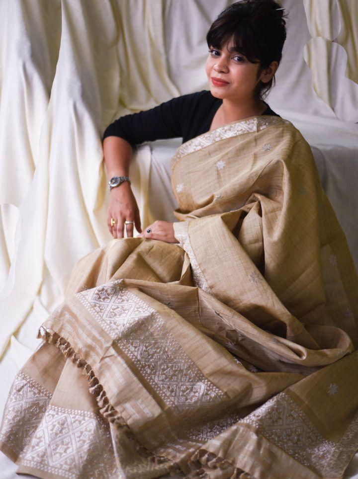 #MekhelaChadar #FabricPlus #Silk #Assam #MugaSilk