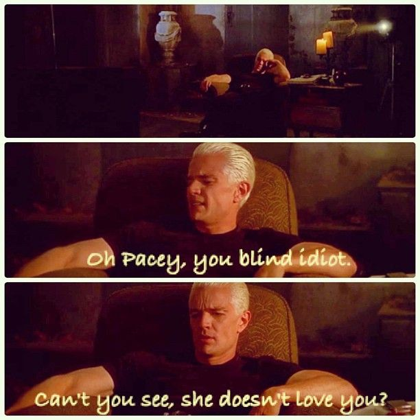 Oh Pacey!  haha....oh Spike!