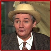 """Pat Buttram -- (6/19/1915-1/8/1994). Film & Television Actor, Writer & Voice-Over Artist. He portrayed Mr. Haney on TV Series """"Green Acres"""", Self on """"The Gene Autry Show"""". Movies -- """"Roustabout"""" as Harry Carver, """"The Gatling Gun"""" as Tin Pot, """"Back to the Future III"""" as Jeb, Saloon Old-Timer #3. He died of Renal Failure, age 78. Born: Maxwell Emmett Buttram."""