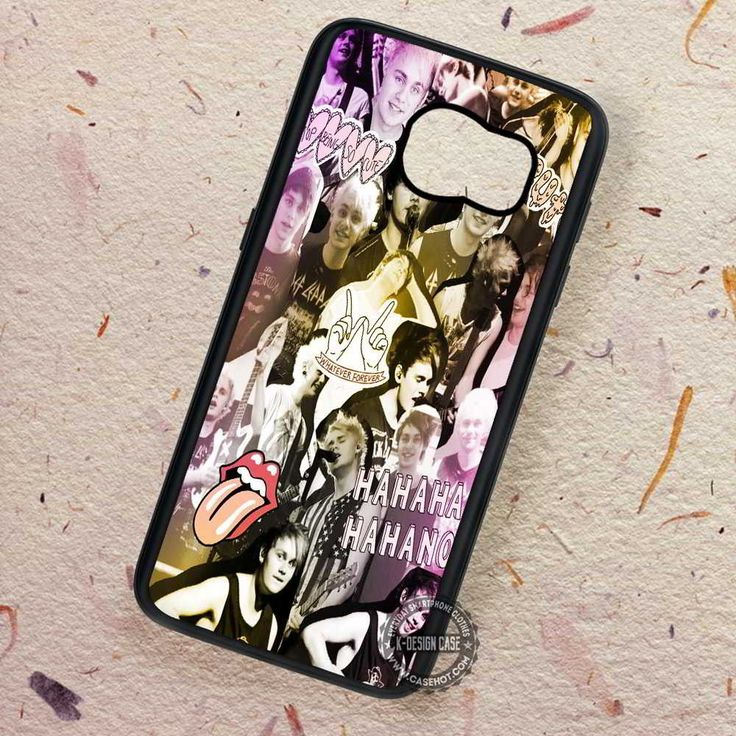 Michael Clifford Collage 5sos - Samsung Galaxy S7 S6 S5 Note 7 Cases & Covers