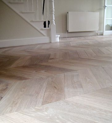 WAXED FLOORS | Gallery  -- SMOKED White Oak with white oil finish