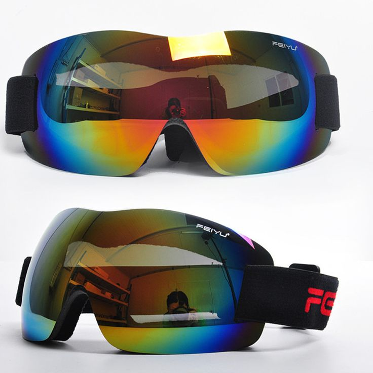 Professional Ski Snowboarding Goggles Men Antifog Gafas Motocross Skiing Glasses Snow Protection Skate Eyewear Google