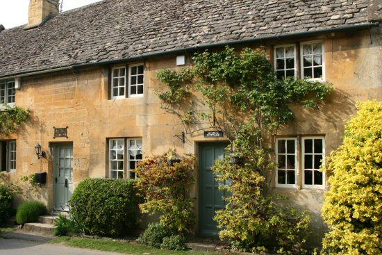 beautifulengland: Stanton Cottage and Quince Cottage, Stanton, Cotswolds