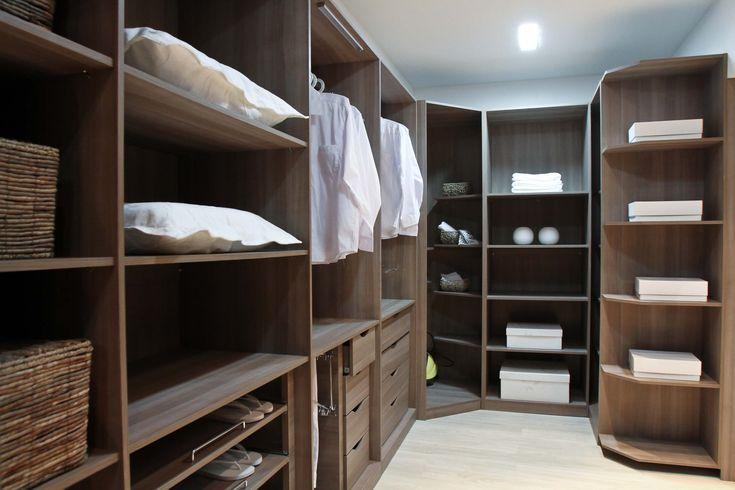 quarto casal planejado com closet Pesquisa Google  ~ Quarto Casal Moveis Planejados