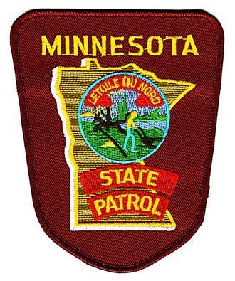 minnesota state police patch | minnesota state patrol patch minnesota state patrol embroidered patch ...
