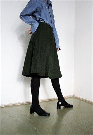 Wool+Skirt
