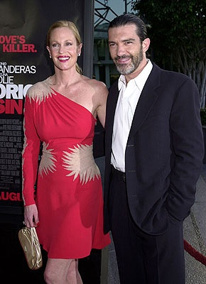 Melanie Griffith & Antonio Banderas - 4th marriage for Melanie but 3rd husband, having married Don Johnson twice.  Looks like this one's the keeper.