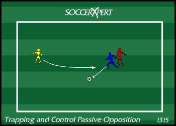 39 best soccer drills images on pinterest soccer coaching soccer soccer drill diagram trapping with passive opposition fandeluxe Gallery