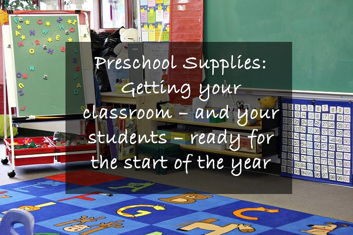 Getting ready for the new preschool year, or need to equip your classroom with furniture and resources for the first time?  Here is my guide to getting ready without pulling all