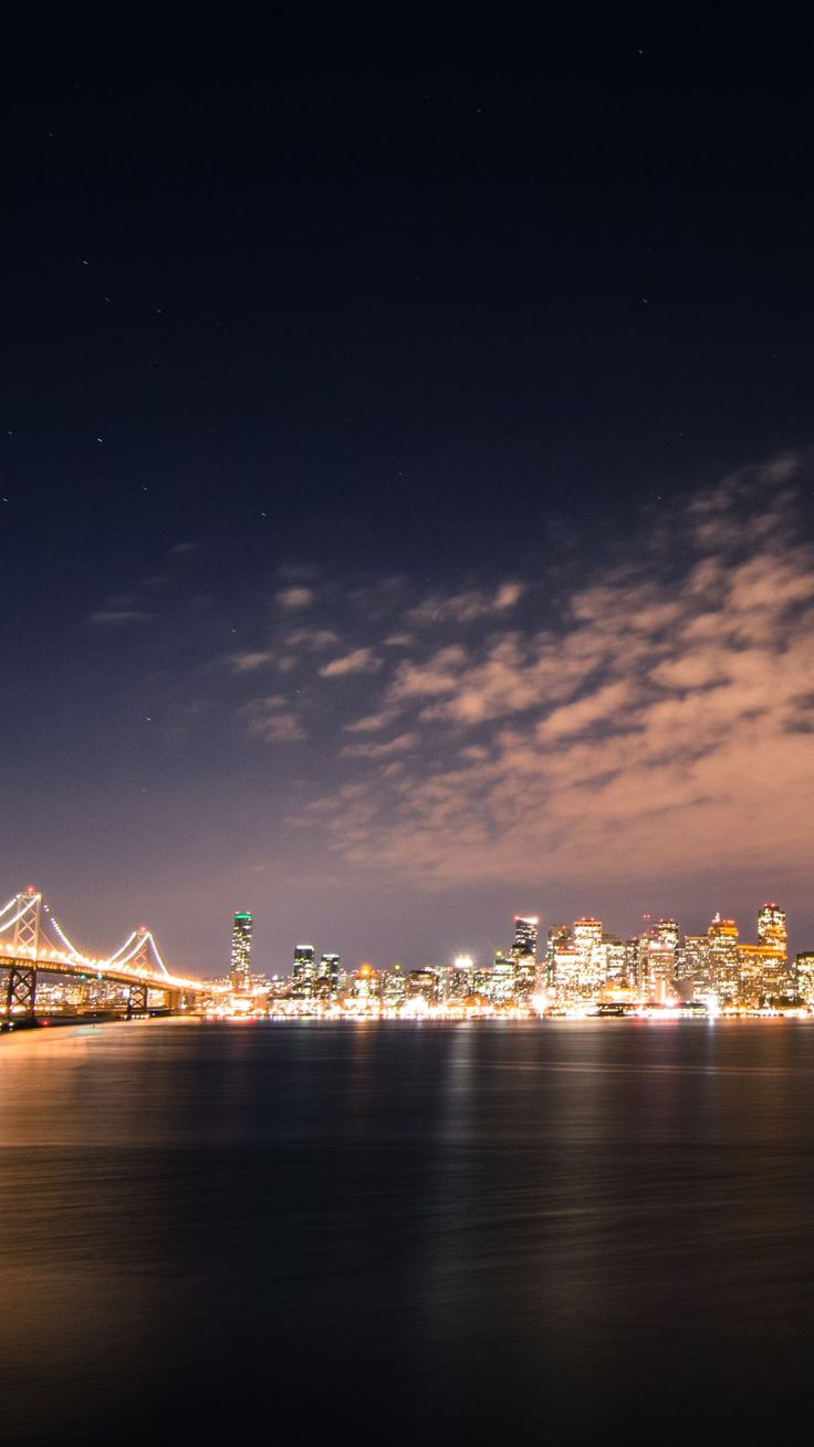 San Francisco Skyline at Night - Bing images