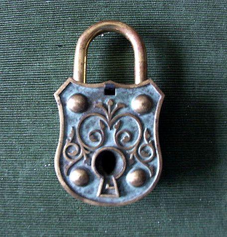 German lock 1950s