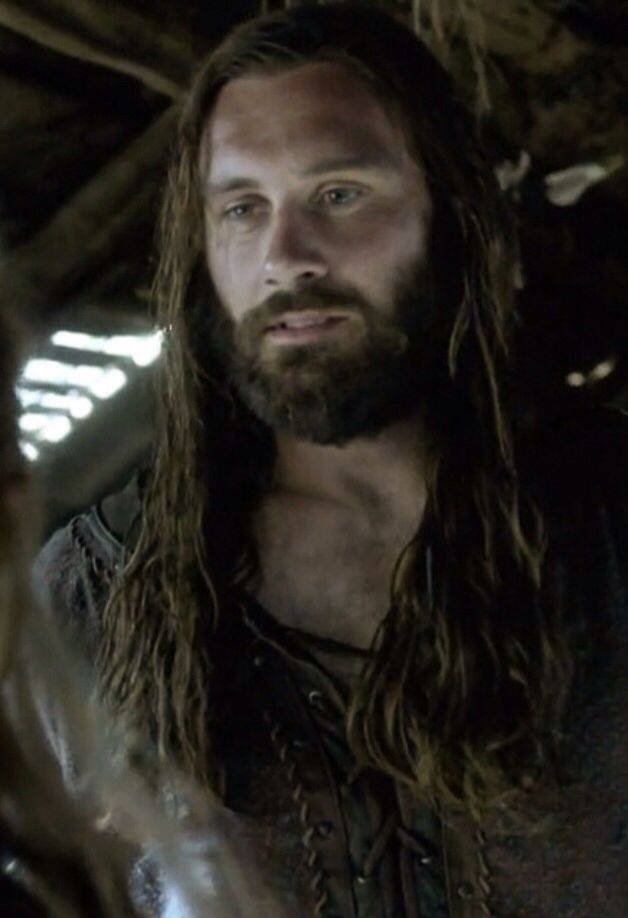 """Clive Standen as Rollo in the History Channel's """"Vikings."""" This man has charisma."""