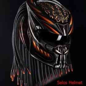 PREDATOR HELMET STREET FIGHTER - DOT APPROVED