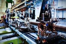 """In a milestone for studying a class of chemical reactions relevant to novel solar cells and memory storage devices, an international team of researchers working at the Department of Energy's SLAC National Accelerator Laboratory used an X-ray laser to watch """"molecular breathing"""" – waves of..."""