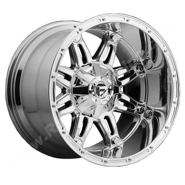 18x12 fuel offroad hostage pvd chrome