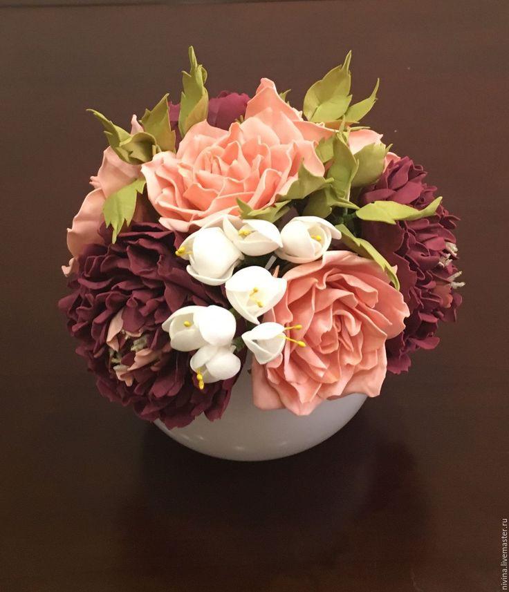 приготовить легкий цветы и композиции из фоамирана фото мк часто эту функцию