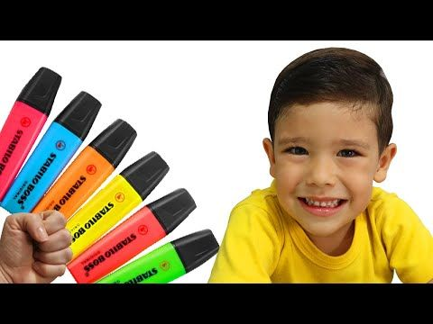 Rafael Finge Brincar Com Sua Caneta Magica Preschool Toddler Learn Color تعليم الالوان بالانجليزي Youtube In 2021 Learning Colors Toddler Learning Preschool