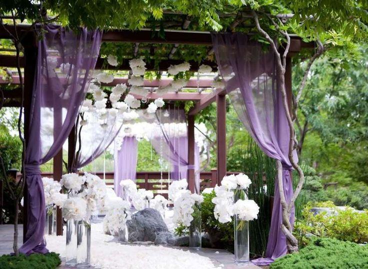 Decorazioni per le nozze all'aperto - Decorazioni per un matrimonio all'aperto