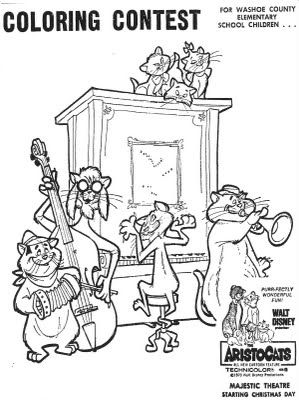 aristocats coloring pages google sgning - Aristocats Kittens Coloring Pages