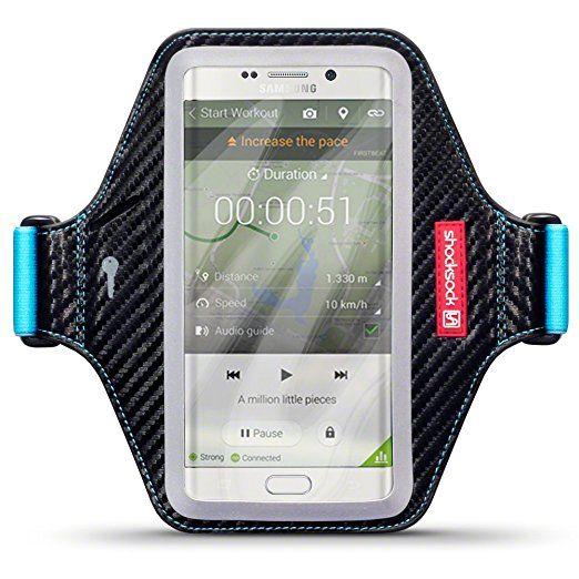 Samsung Galaxy S6 Edge Plus Accessoires, Shocksock Brassard Armband Sport pour Samsung Galaxy S6 Edge Plus Coque Cuir: Amazon.fr: High-tech