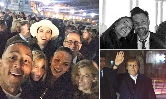 Inside the Obama's final star-studded party: Bash goes on until 4am with Meryl Streep, Paul McCartney, SJP and Chance the Rapper on the dance floor | Daily Mail Online