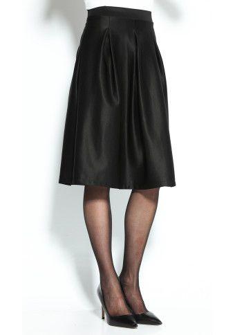 Jednobarevná rozšířená sukně #ModinoCZ
