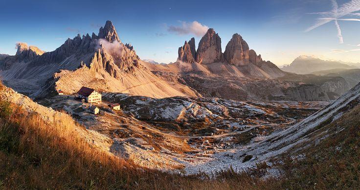 tre cime di lavaredo | Tre Cime Di Lavaredo In Val Pusteria Picture