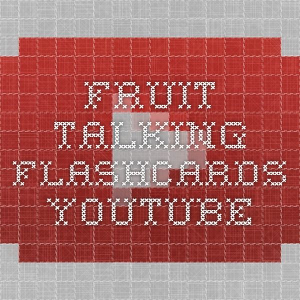 Fruit - Talking Flashcards - YouTube