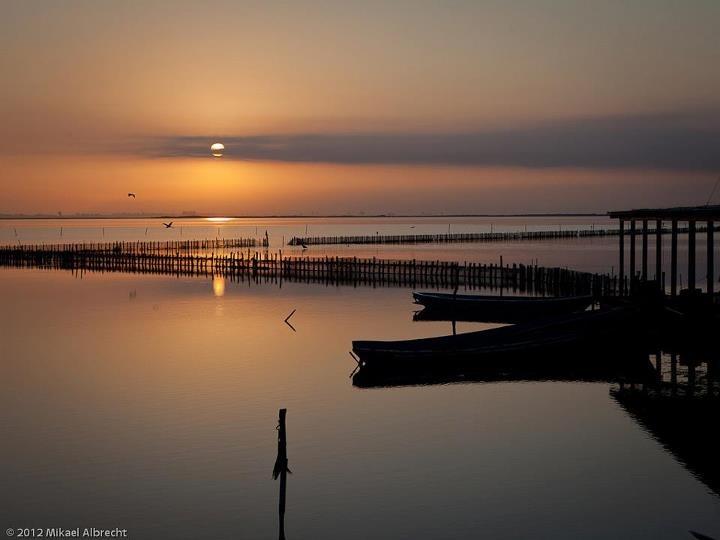 """Tourlida sunrise"" Messolongi, Greece"