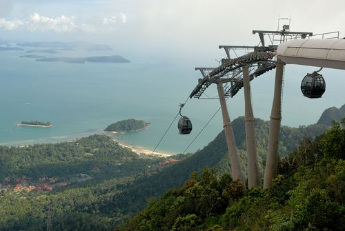 Langkawi Cable Car. Langkawi Island is still a hidden gem from tourists hence it retains its mystical calm and beauty, compared to the other tourist flocked places like Phuket or Bali.