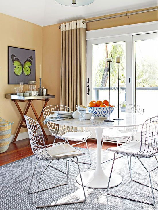 Contemporary Decorating Makeover | Trays, Spaces and Small