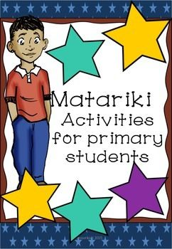 Looking for an easy to use Matariki resource? Looking for a range of easy to use Matariki activities for New Zealand primary students? Have a look here:3 Reading comprehensions Suitable for independent reading for Gold readers plus or suitable for shared reading.Songs Twinkle, twinkle little star in Maori and nga Whetu o Matariki , a song about the names of the Maori stars.