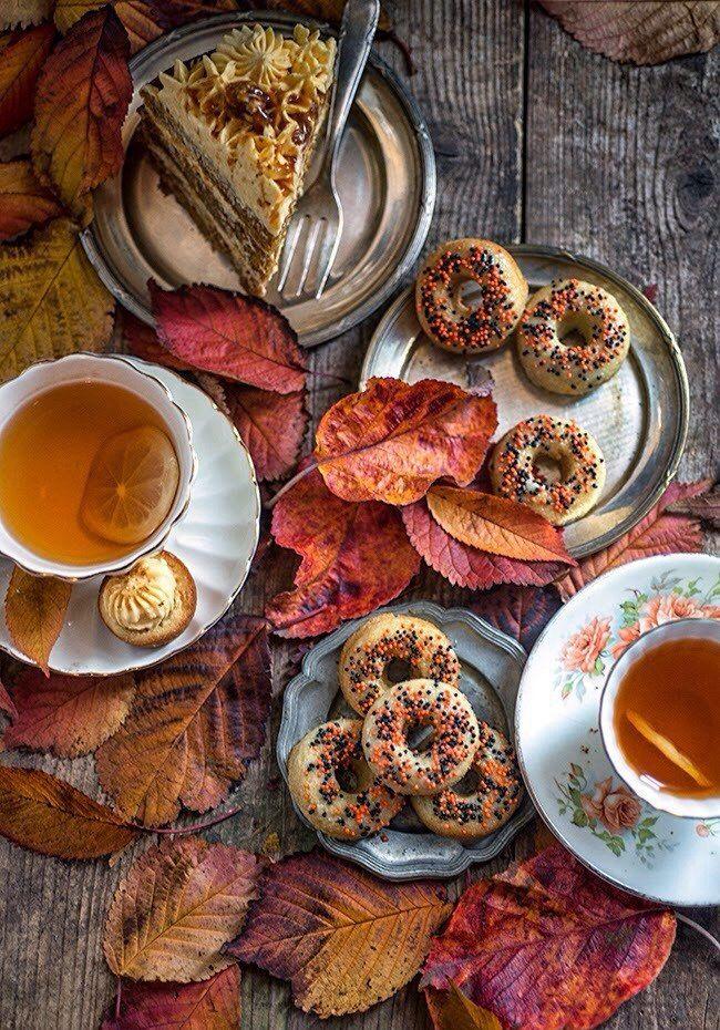 специально картинки с добрым утром с едой осенние красивые сделает соус