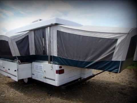 Used 2001 Coleman Niagara Elite pop up camper RV for sale in Pennsylvania - YouTube