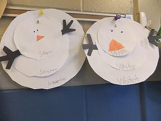 comparitive & superlative idea - cute: Holidays Ideascraft, Fun Activities, Blue Sky, Snowman Crafts, Melted Snowman, Melted Snowmen, Kids Crafts, Snowmen Ideas, Classroom Ideas