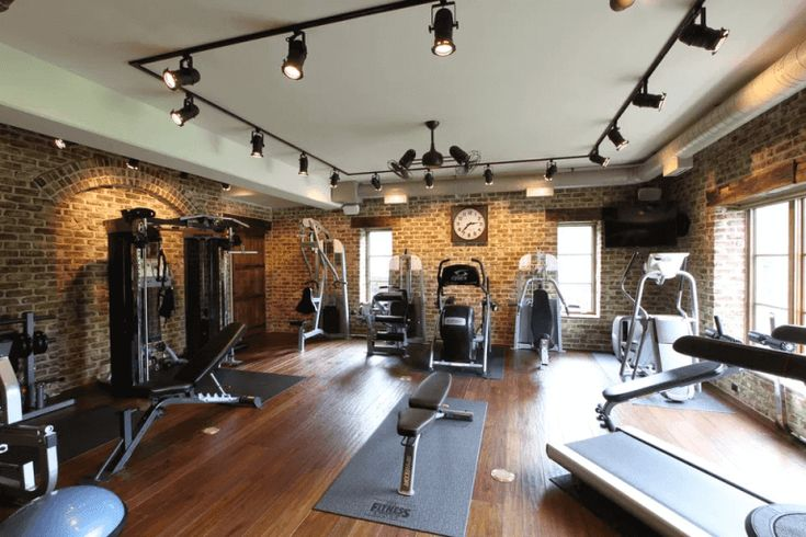 30 Best Home Gym Ideas And Gym Rooms For Your Training Room Gym Room At Home Home Gym Decor At Home Gym