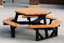 Recycled Plastic Picnic Tables are LEED Qualified