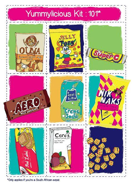 Yummylicious Kit 101: South African Goodies by DimitraTzanos, via Flickr