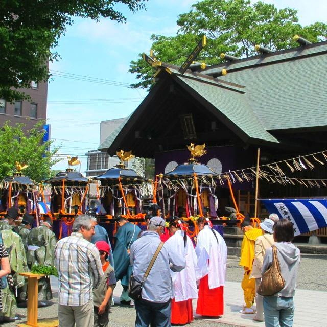 北海道神宮例大祭(札幌まつり)頓宮
