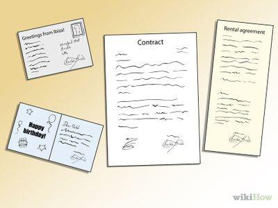 Como Criar uma Assinatura Legal -- via pt.wikiHow.com