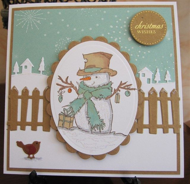 Paper Craft Christmas Card Ideas Part - 18: LOTV U0027Mr Snowmanu0027 By Michele G - Cards And Paper Crafts At  Splitcoaststampers