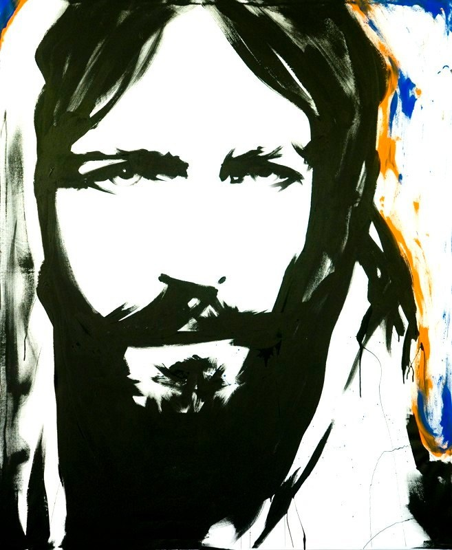 Christ Eyes by The Jesus Painter (Mike Lewis) ... watching him paint this masterpiece live at the 2012 Women of Faith Conference was mesmerizing!