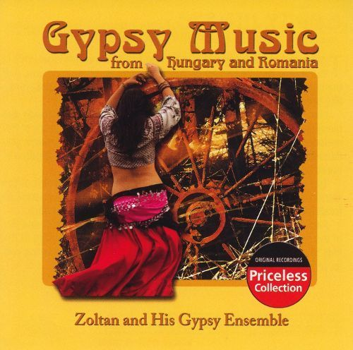 Gypsy Music from Hungary and Romania [CD]