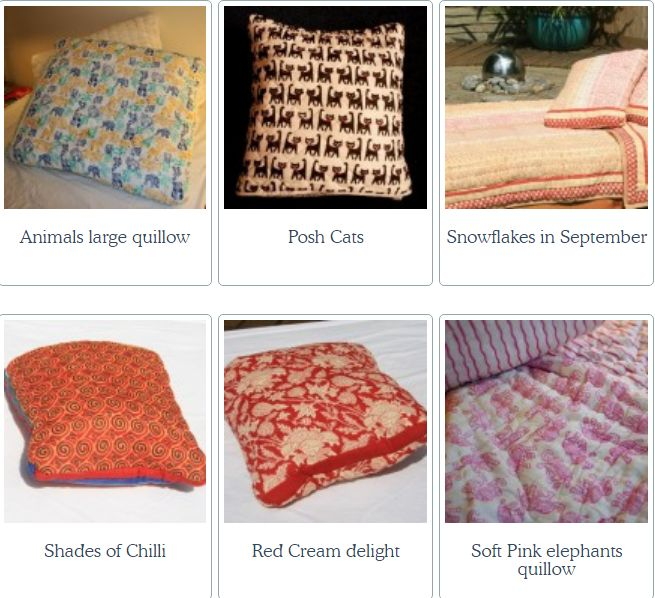 Teenage bedding aka Quillows from Natural Quilts are simple yet very unique. These bright and cheery quilts fold up into cushions when not in use. #teenagebedding #singlequilt #singlebedquilts #quiltsforsale