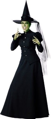 Fans of The Wonderful Wizard of Oz or Wicked will love this costume of Elphaba, the Wicked (or maybe not so wicked) Witch of the West. Costume set includes dress and hat. Available in adult and adult plus sizes.To browse our wide selection of girl-empowering costumes, visit our Costumes / Dress-up Clothing section.
