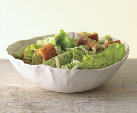 9/10 Basil Ceasar Salad - made this a number of times. Always a hit and nice twist on the traditional Ceasar Salad. !