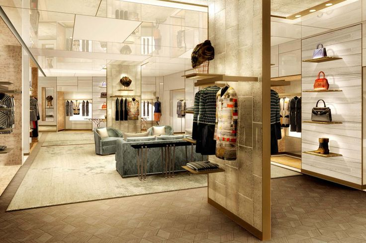 Palazzo Fendi Store in Rome. For more, visit the blog.