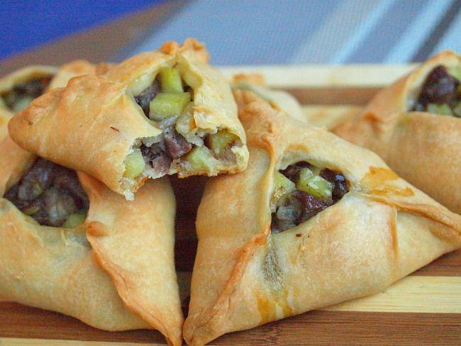 Эчпомак Традиционные татарские пирожки, сытные и сочные