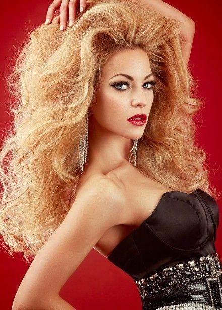 coiffure longue epaisse