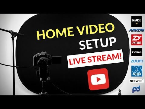 How to Make YouTube Videos - YouTube Studio Setup